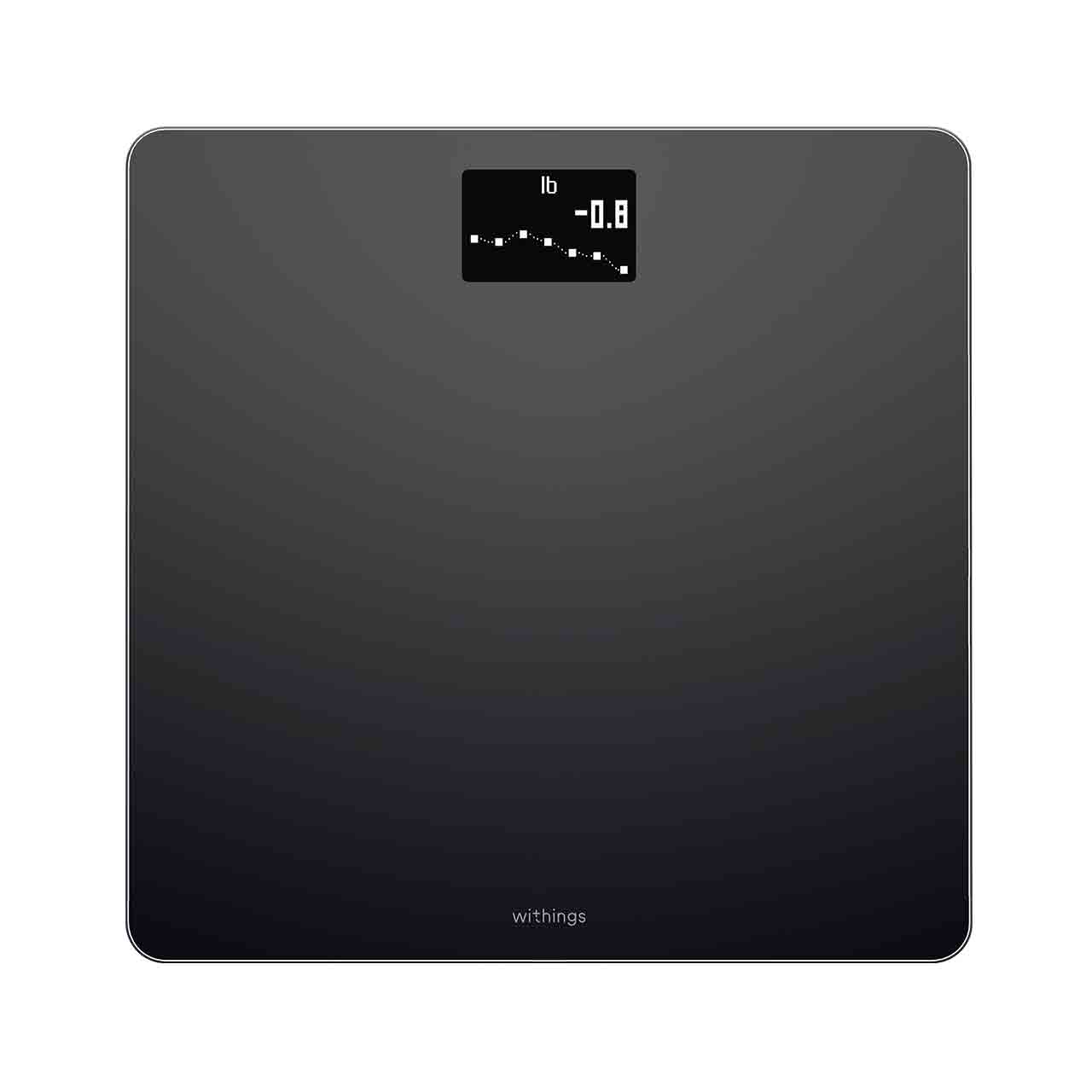 Withings Body (Nokia), Black - Weight & BMI Wi-Fi Scale - Wi-Fi sync, Multi-user, Pregnancy mode - Withings Official Store