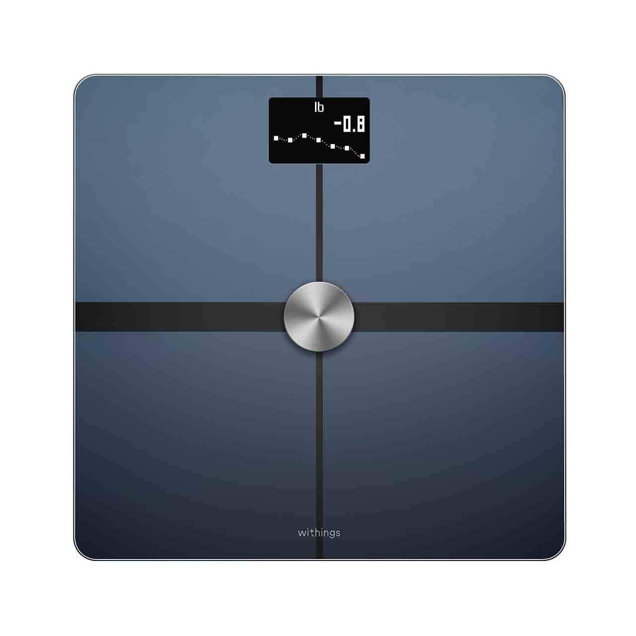 Withings Body+ (Nokia), Black - Body Composition Wi-Fi Scale - Weight, Body fat, Muscle mass, Nutrition tracking, Multi-user - Withings Official Store