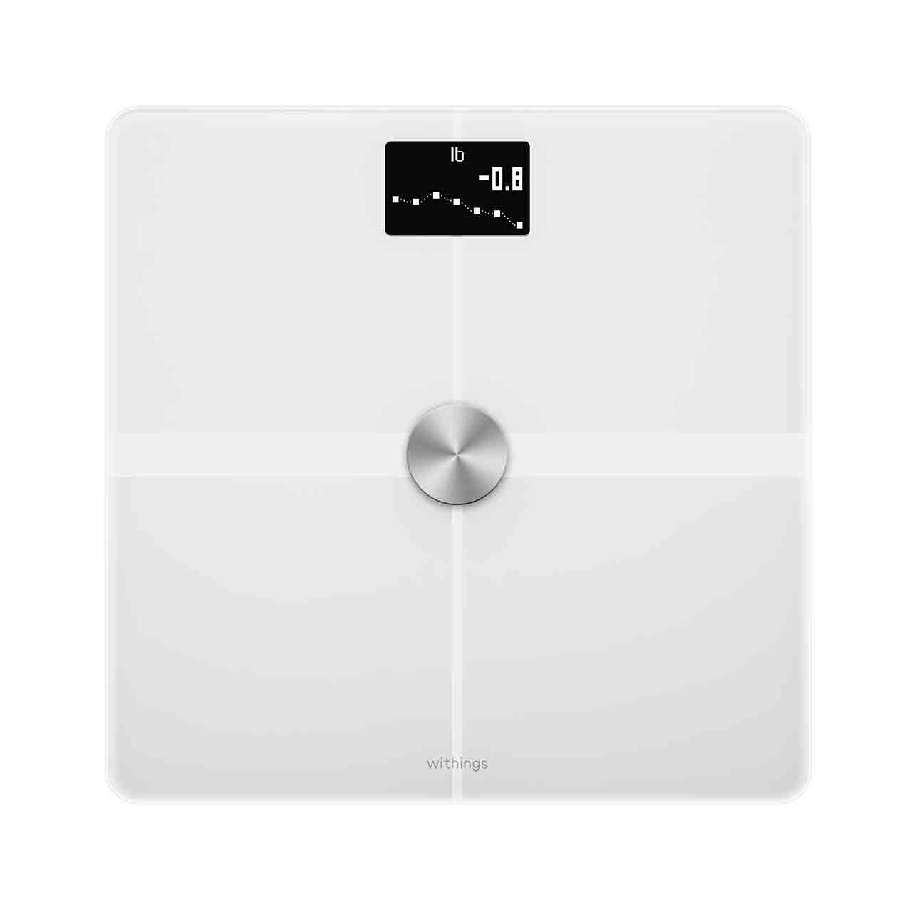 Withings Body+ (Nokia), White - Body Composition Wi-Fi Scale - Weight, Body fat, Muscle mass, Nutrition tracking, Multi-user - Withings Official Store