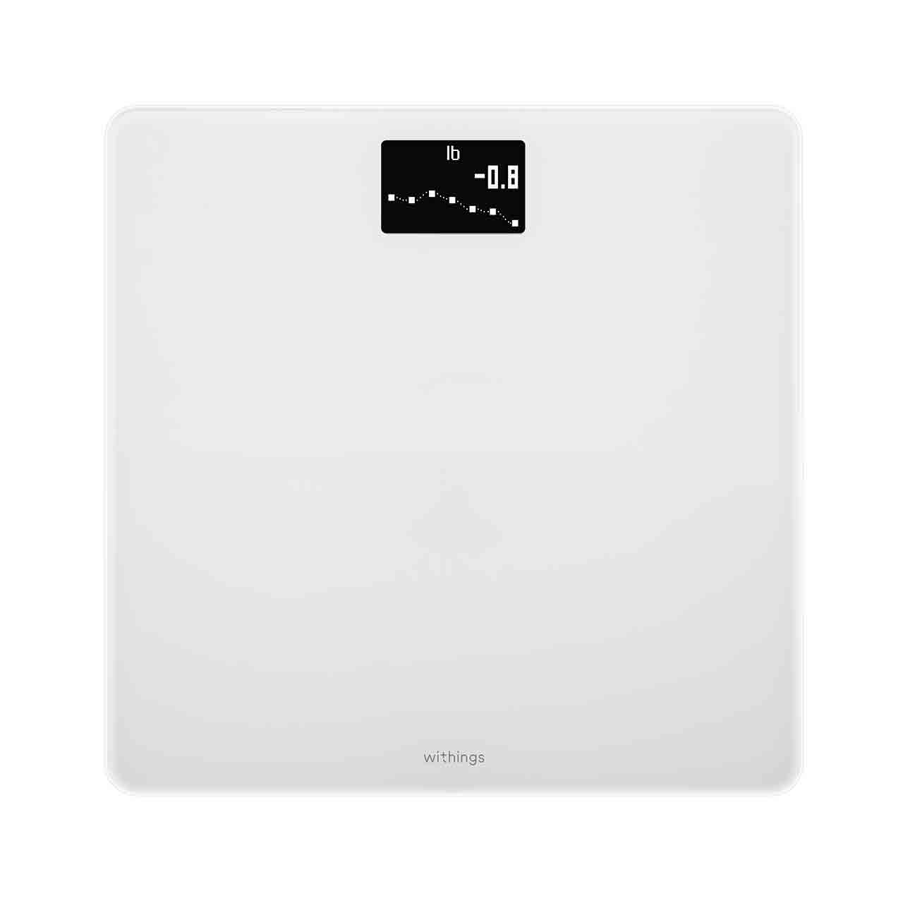 Withings Body (Nokia), White - Weight & BMI Wi-Fi Scale - Wi-Fi sync, Multi-user, Pregnancy mode - Withings Official Store