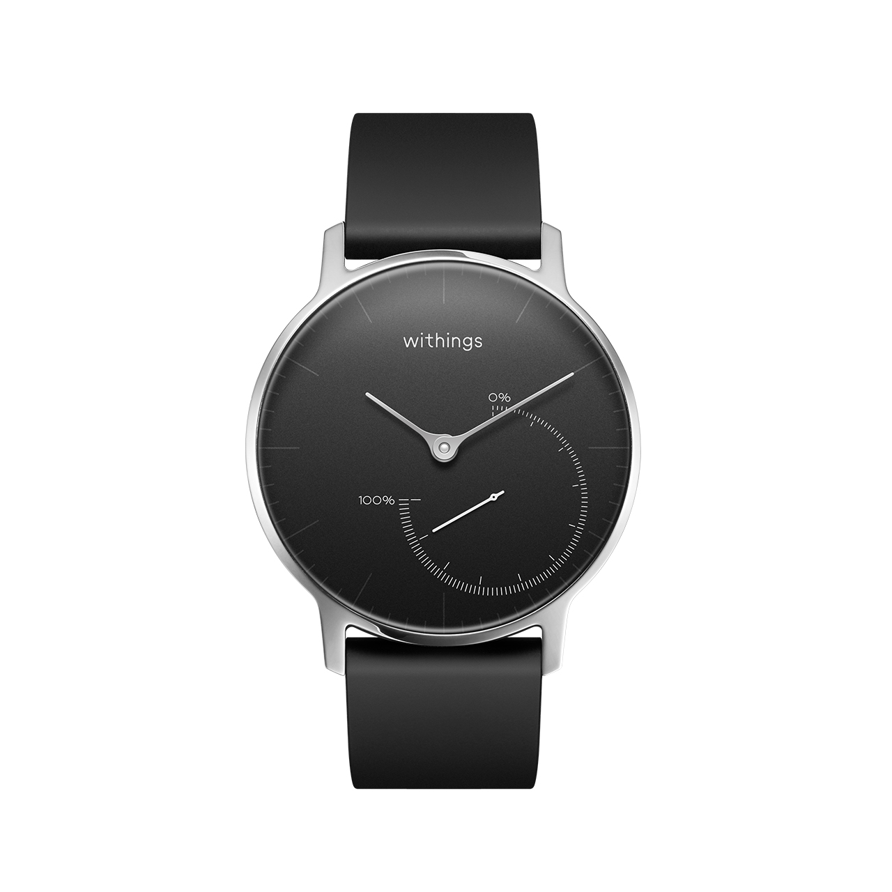 Withings Steel (Nokia), Black - Activity & Sleep Tracking Watch - No charging, Water resistant - Withings Official Store