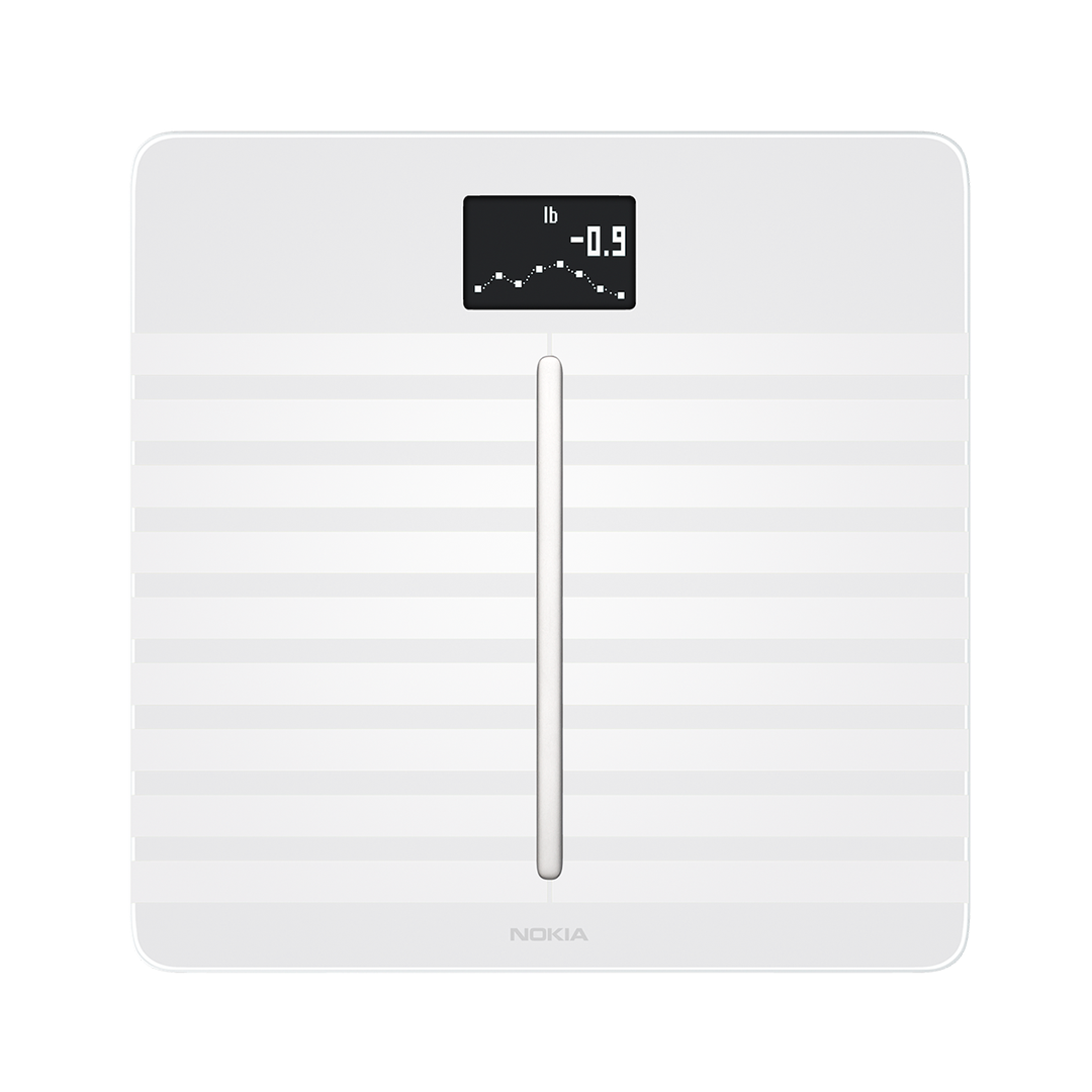 Withings Body Cardio (Nokia), White - Wi-Fi Smart Scale with Body Composition & Heart Rate - Body fat, Muscle mass - Withings Official Store